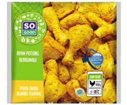 Image Ayam Potong Paha Dada Bumbu Kuning