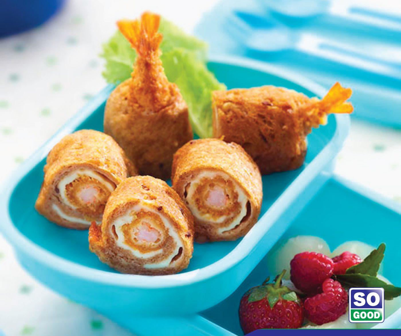 Image Roti Goreng Gulung With So Good Ebi Panko