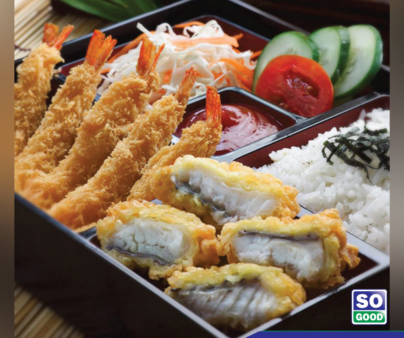 Image Tilapia Ala Bento With So Good Ebi Panko