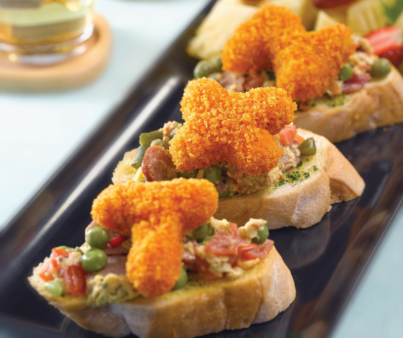 image Abc Bruschetta With So Good Nugget Alphabet