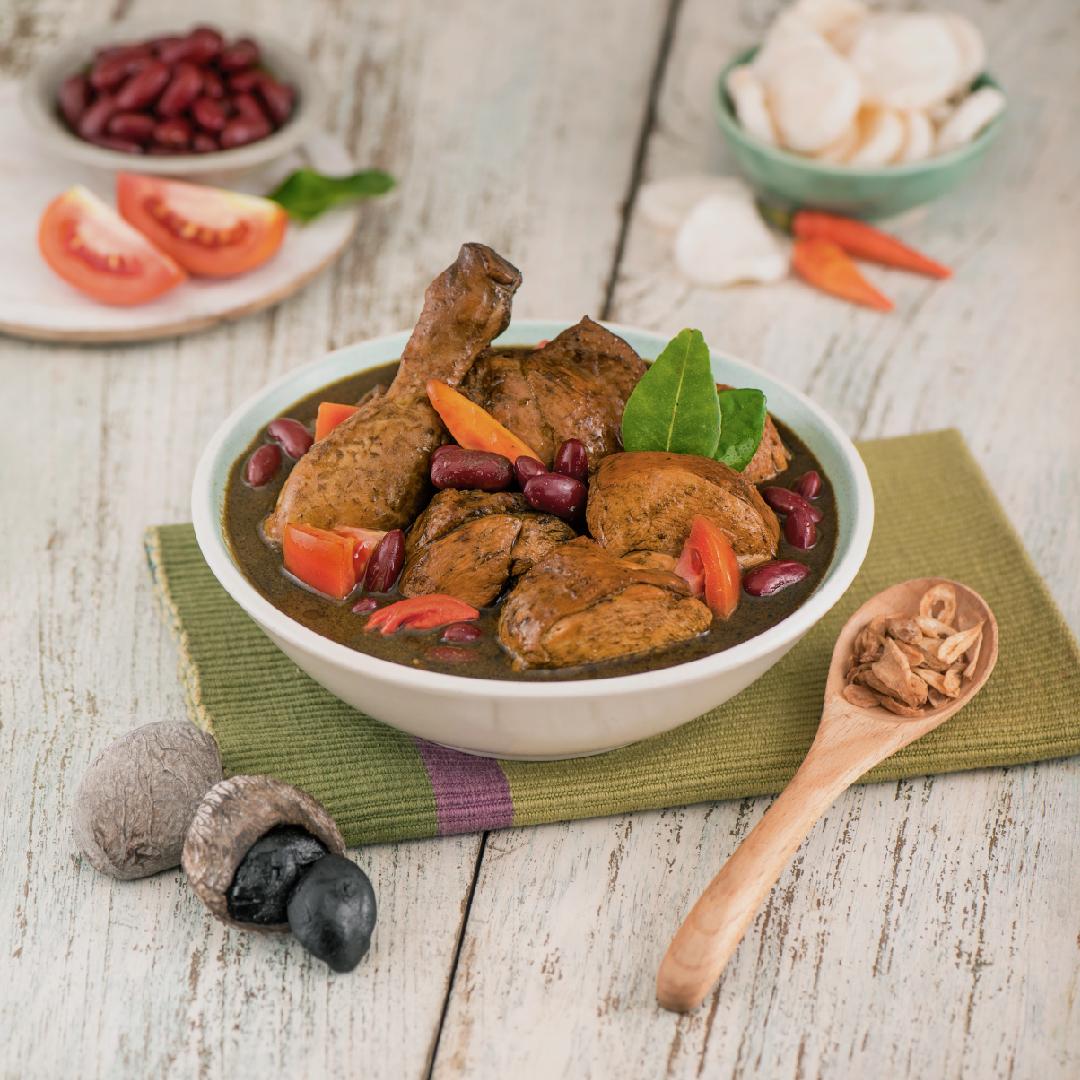 Image Ayam Kacang Merah Bumbu Kluwak