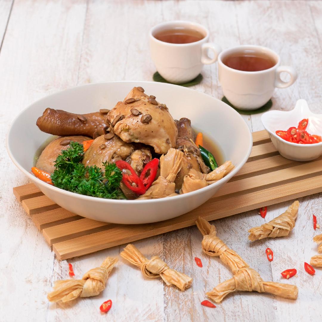 Image Ayam Tim Tauco Kembang Tahu