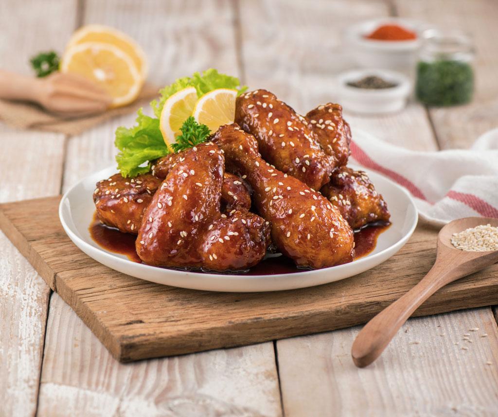 Image Ayam Wijen Saus Lemon