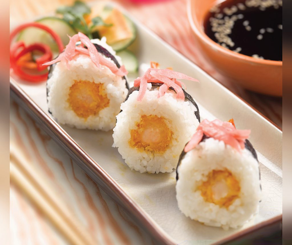 Image Crunchy Sushi With So Good Ebi Panko