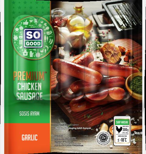 Image Sausage Premium Garlic