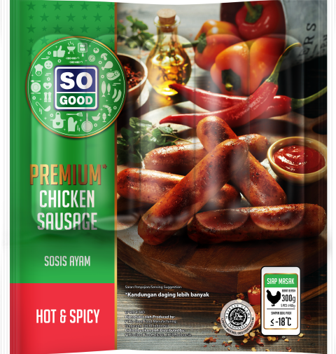 Image Sausage Premium Hot & Spicy