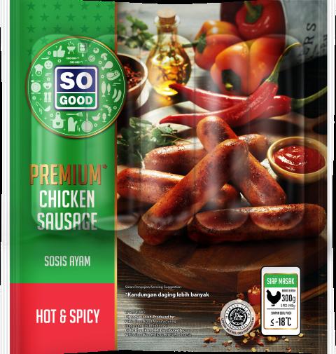 Image Sausage Premium Hot & Spicy
