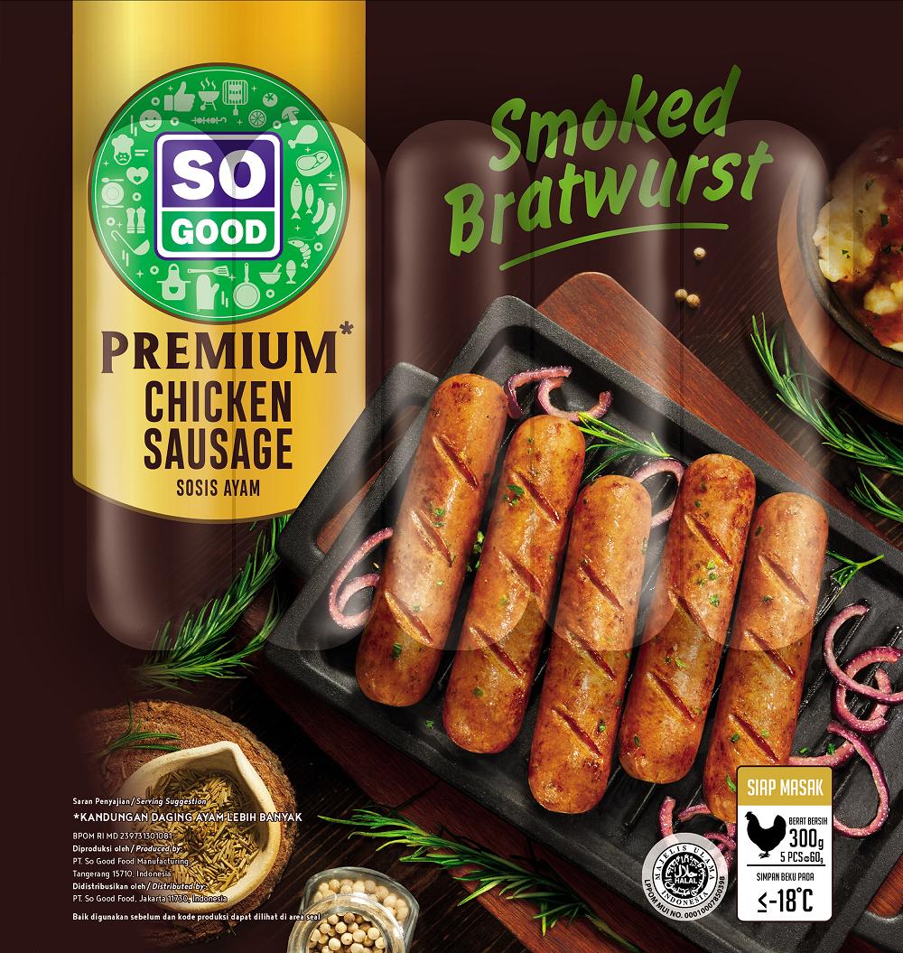 Image Sausage Premium Smoke Bratwurst