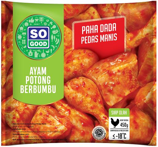 Image Ayam Potong Paha Dada Pedas Manis
