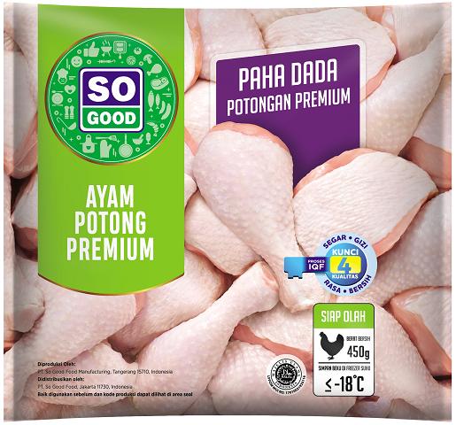 Image Ayam Potong Paha & Dada