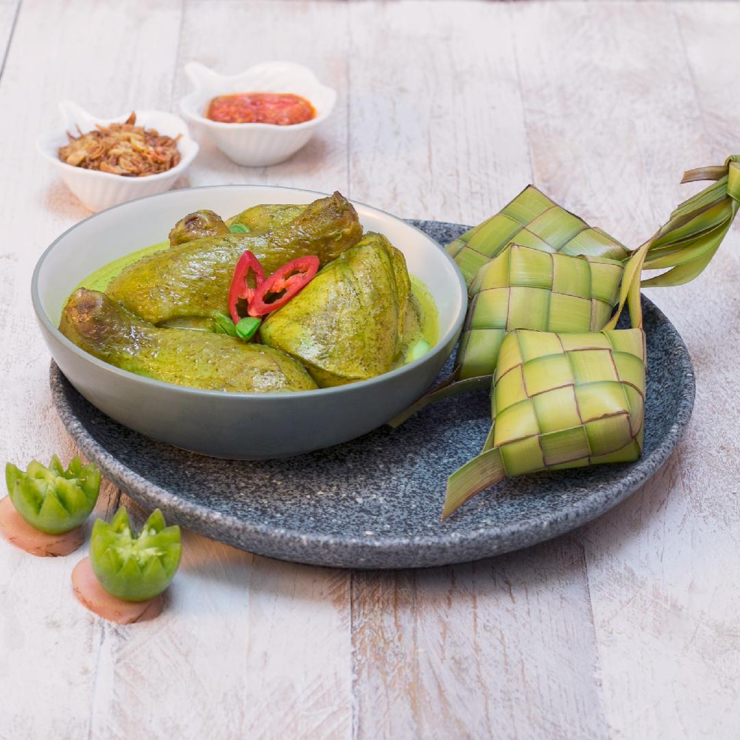 Image Gulai Ayam Ijo