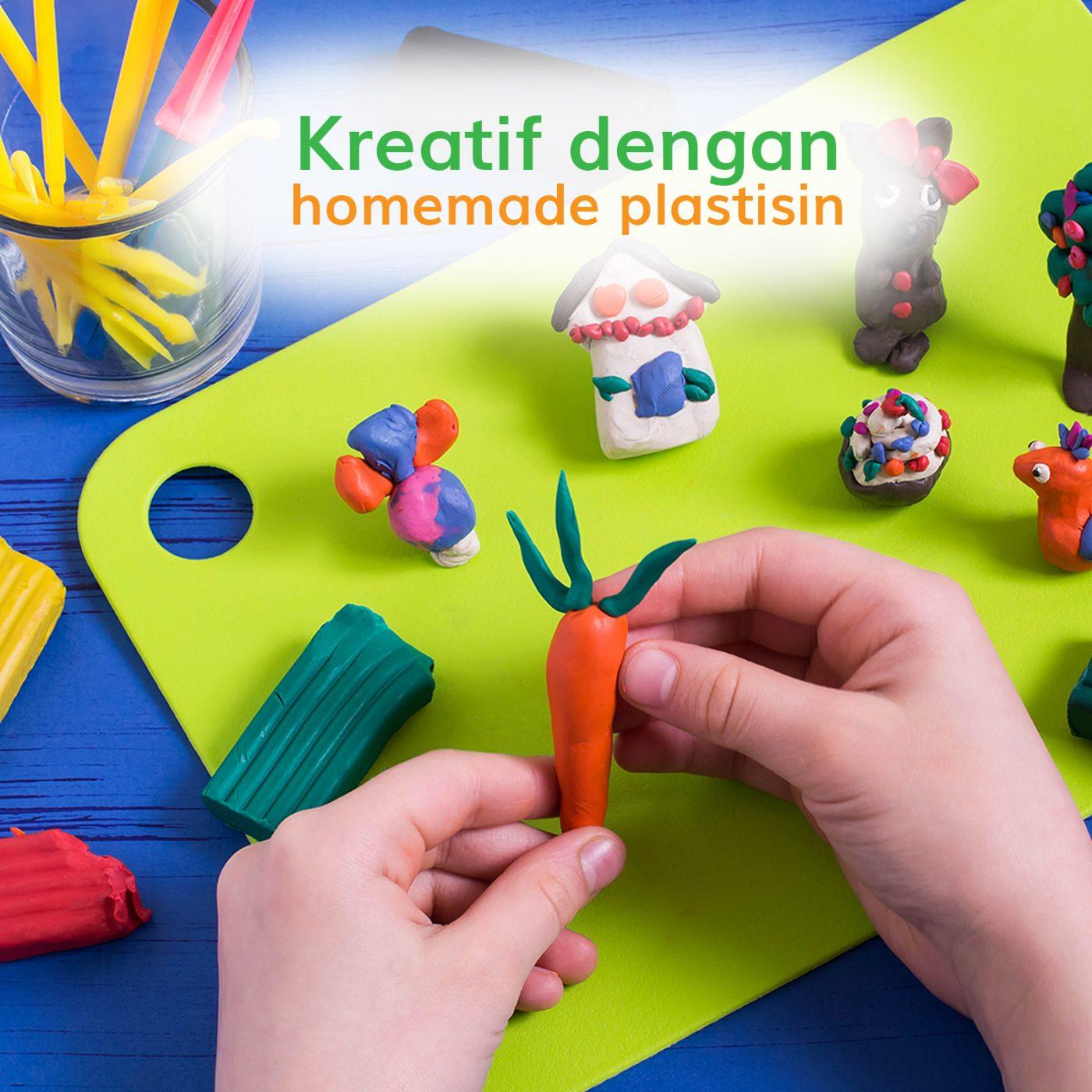 Image KREATIF DENGAN HOME MADE PLASTISIN