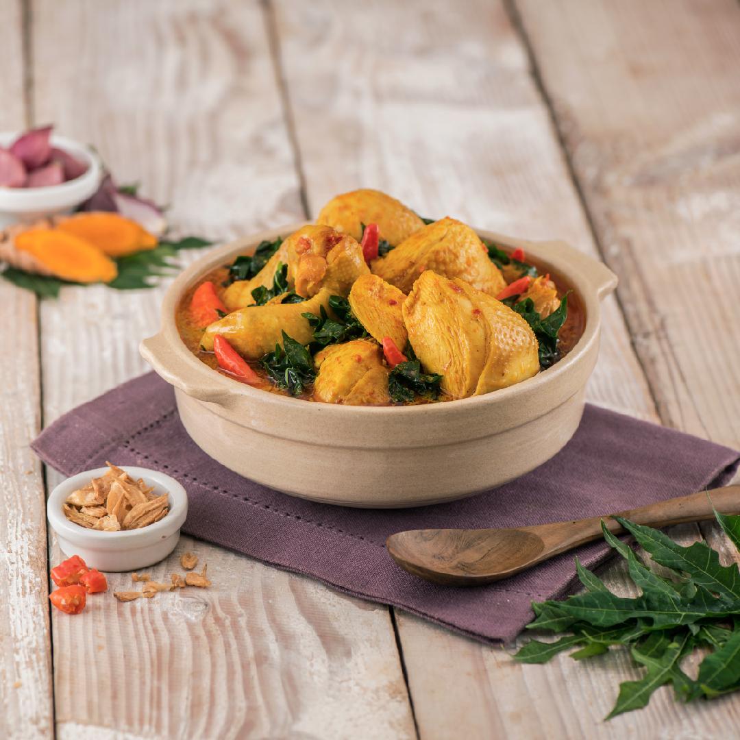 Image Mangut Ayam Daun Pepaya