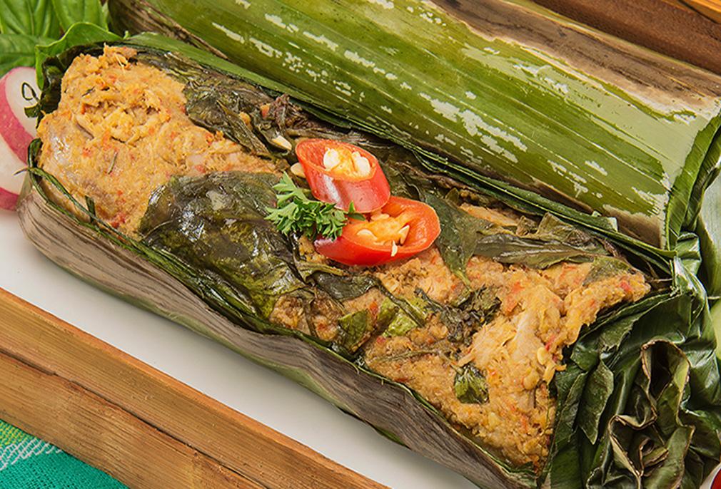 Image Nasi Bakar Ayam Gurih Pedas