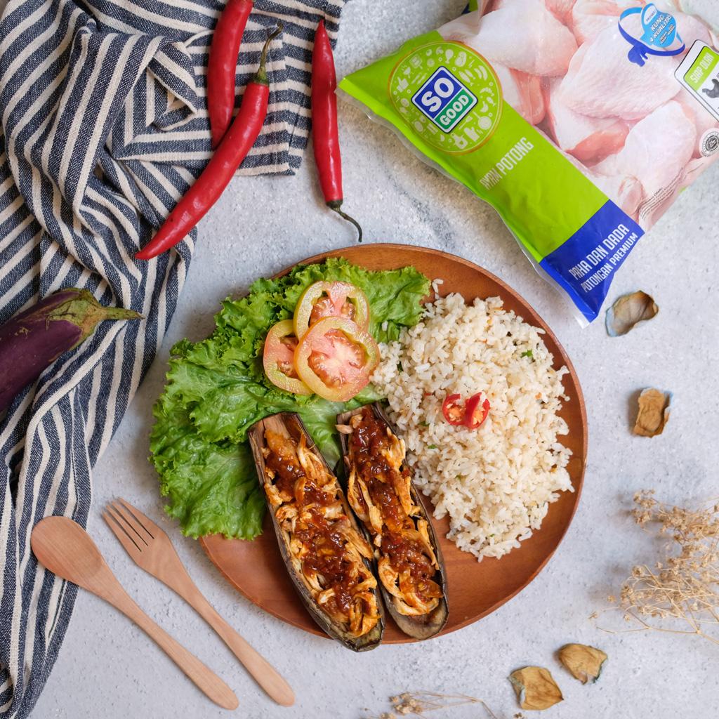 Image Nasi Goreng Kencur dan Terong Panggang Ayam Taliwang