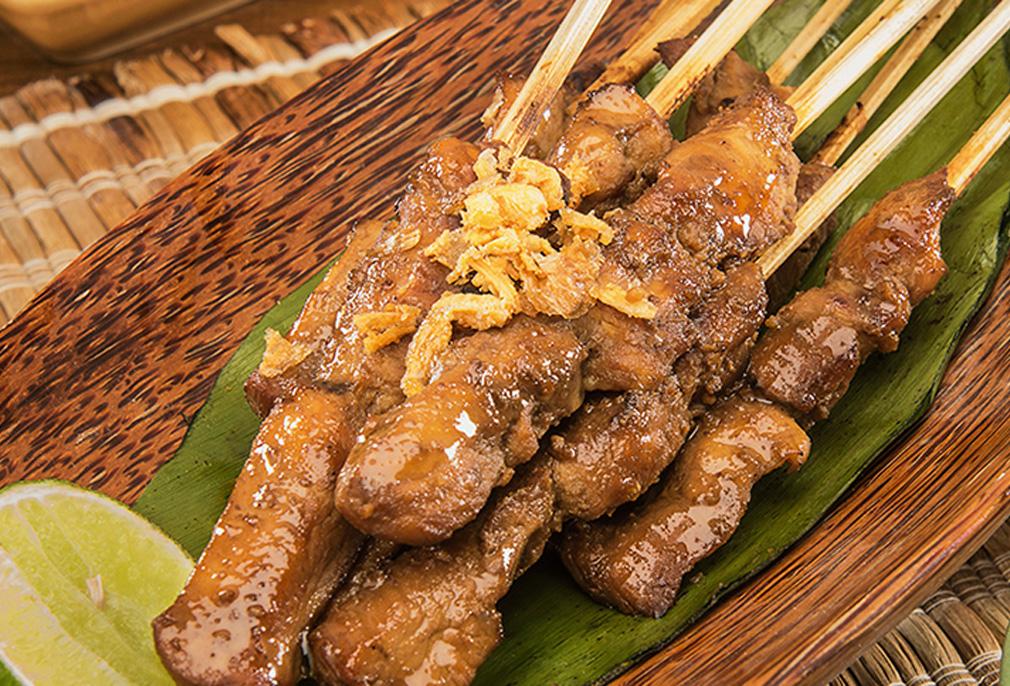 Image Sate Ayam Bumbu Blora