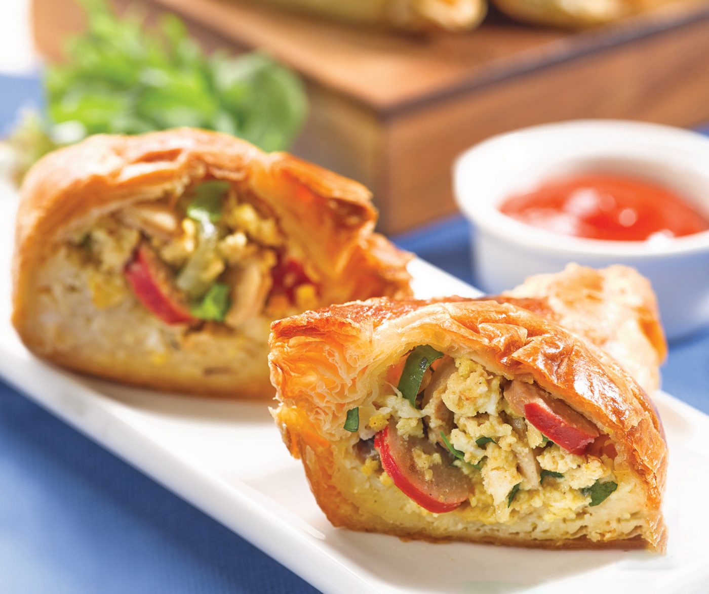 Image Sausage Egg Calzone With So Good Sausage Premium