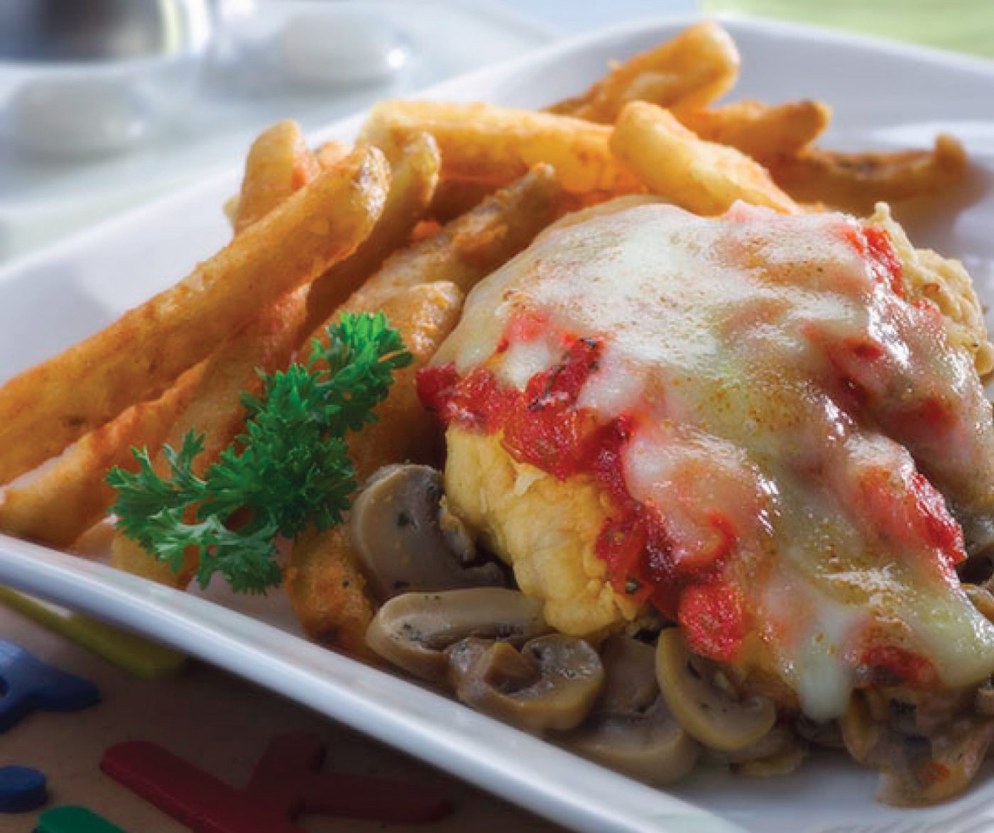 Image Chicken Pomegrande With So Good Chicken Steak