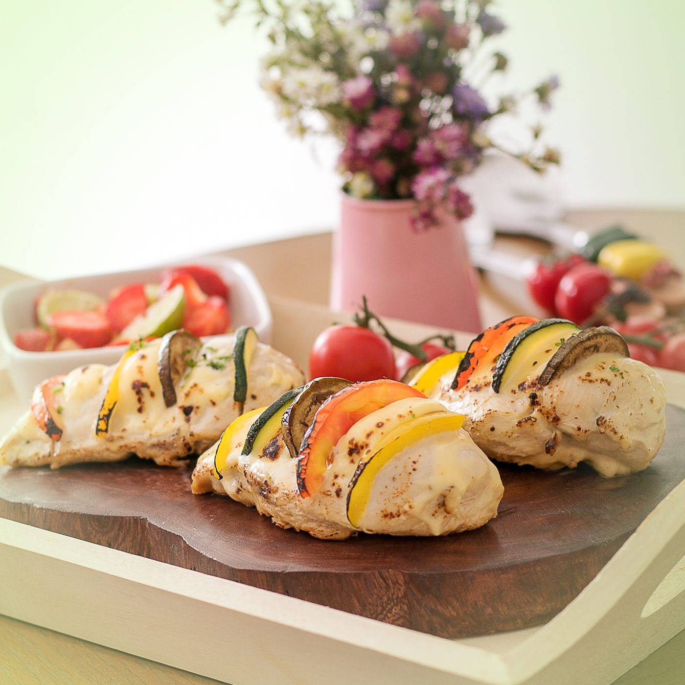 Image Cheese Stuffed Chicken