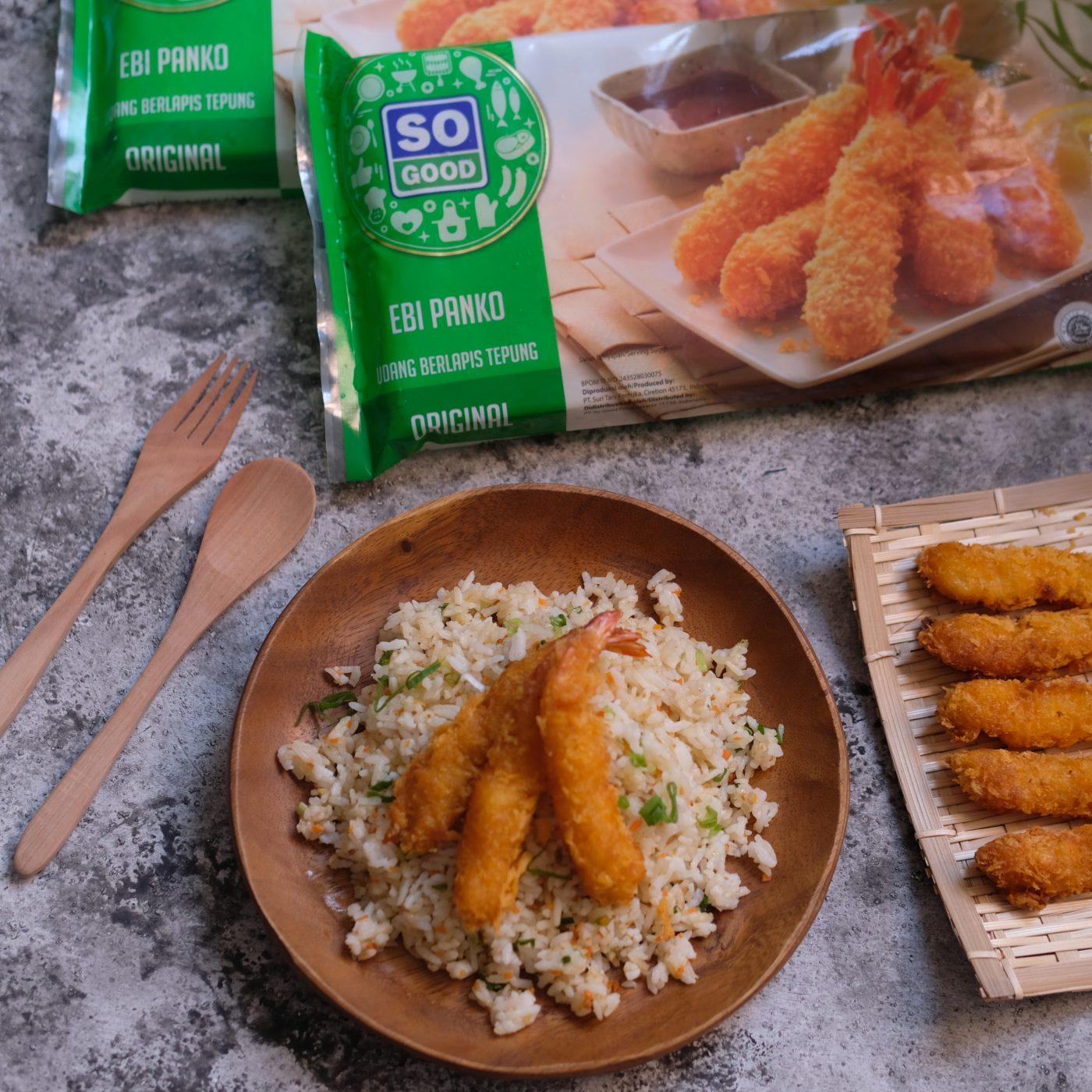 Image Garlic Butter Rice with Ebi Panko