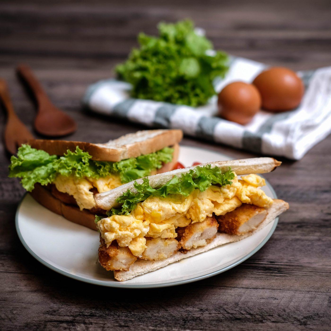 Image Chicken Katsu Sandwich