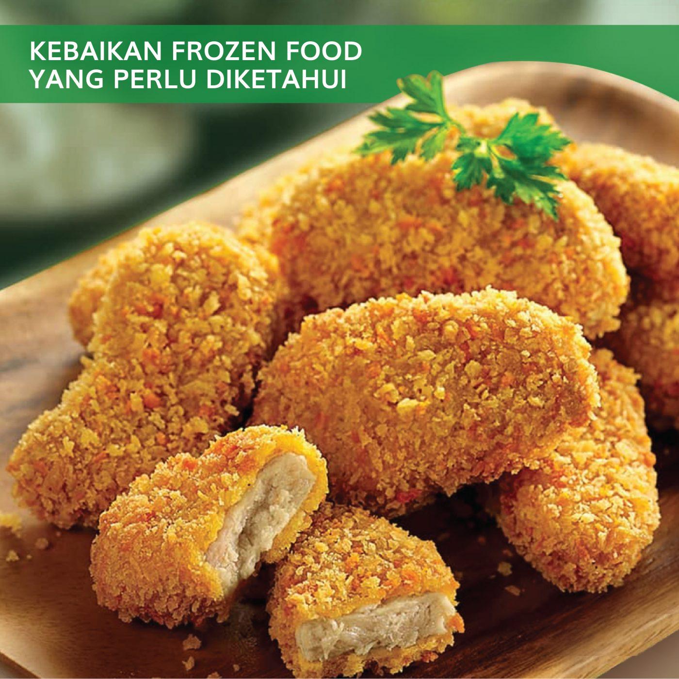 Image KEBAIKAN FROZEN FOOD YANG PERLU DIKETAHUI