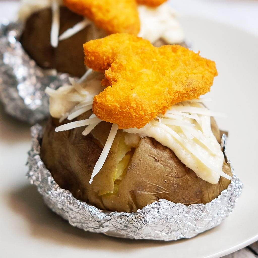 Baked Potato With Jetz Nugget