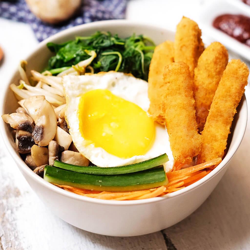 Image Bibimbap Premium Chicken Stick