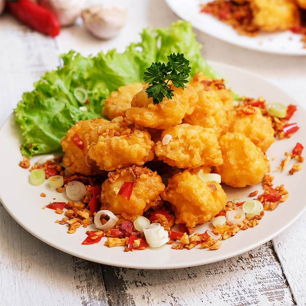 Image Fish Karage Salt and Pepper