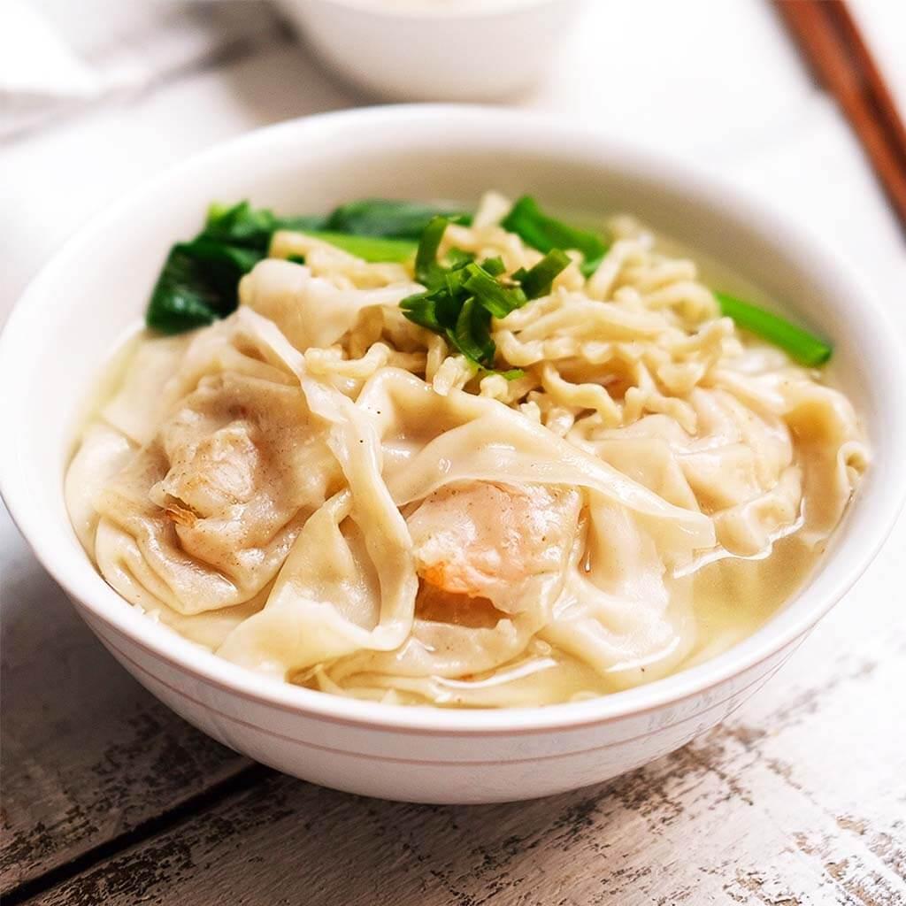 Image Noodle Wonton Soup