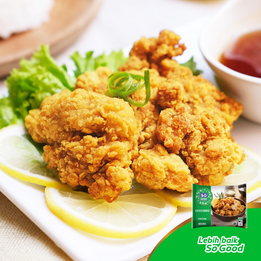 Image Chicken Karage with Lemon Sauce