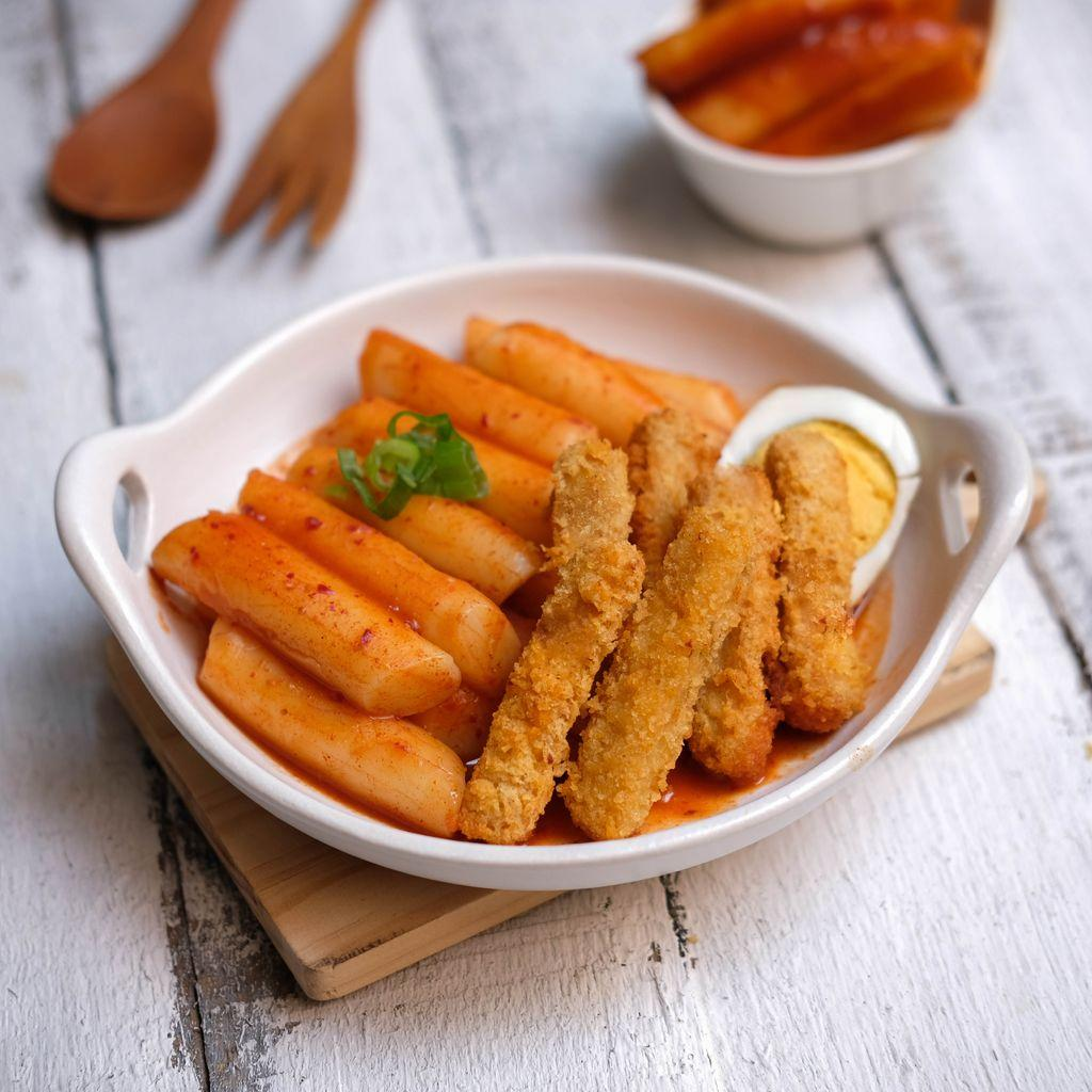Image Tteokbokki & Chicken Stick