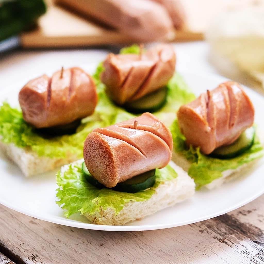 Image Sausage Canape