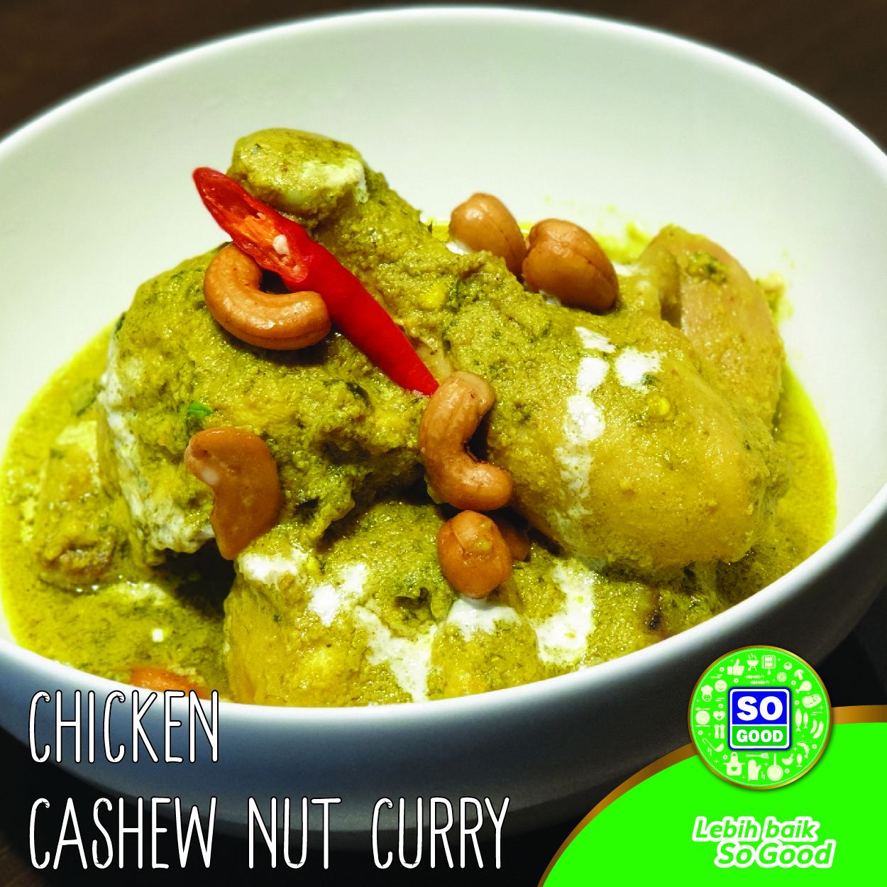 Image Chicken Cashew Nut Curry