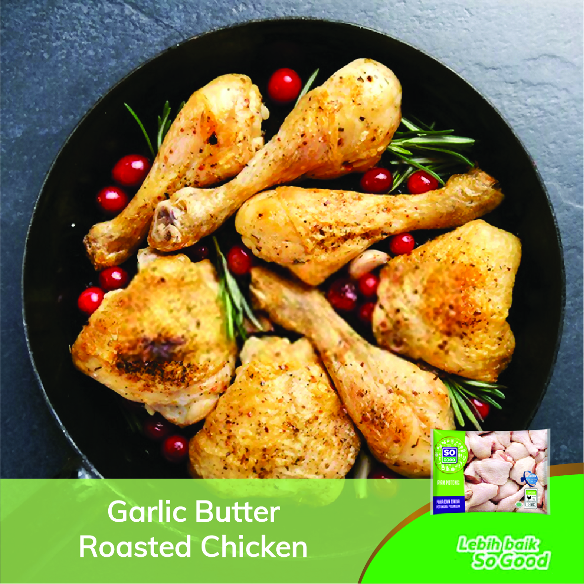 Image Olahan Ayam Panggang Spesial Natal
