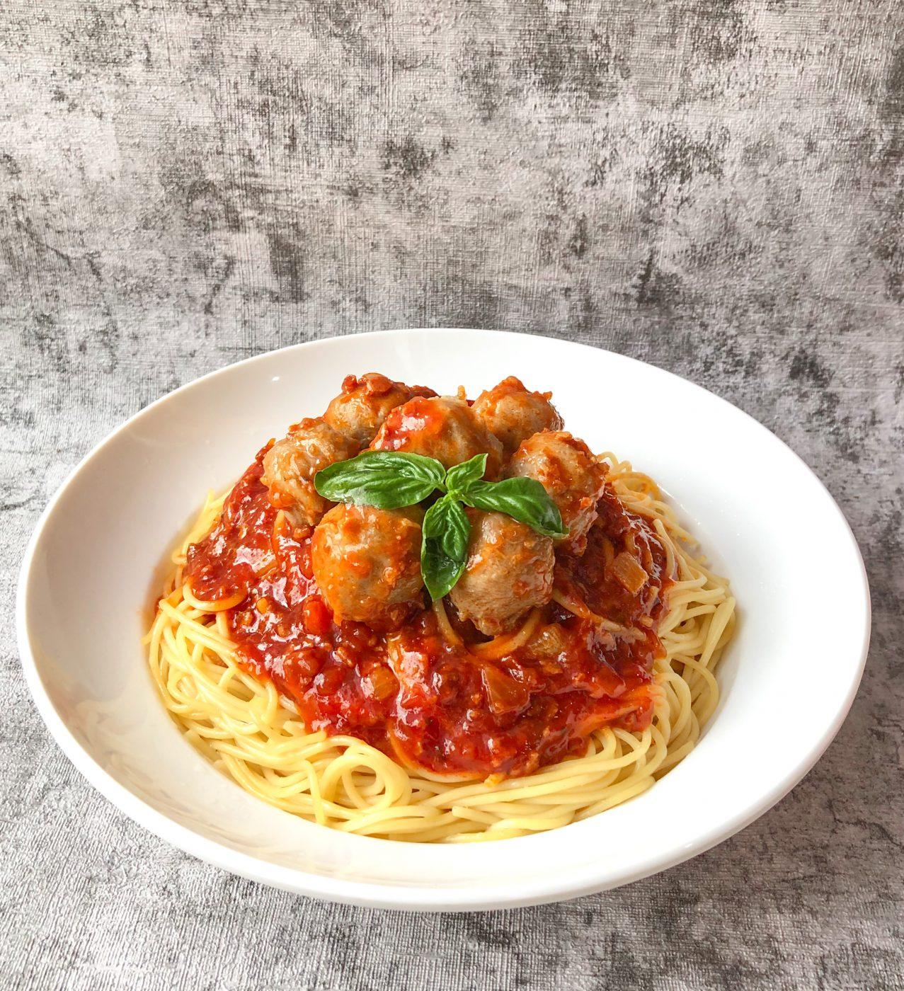 Image Meatball Spaghetti