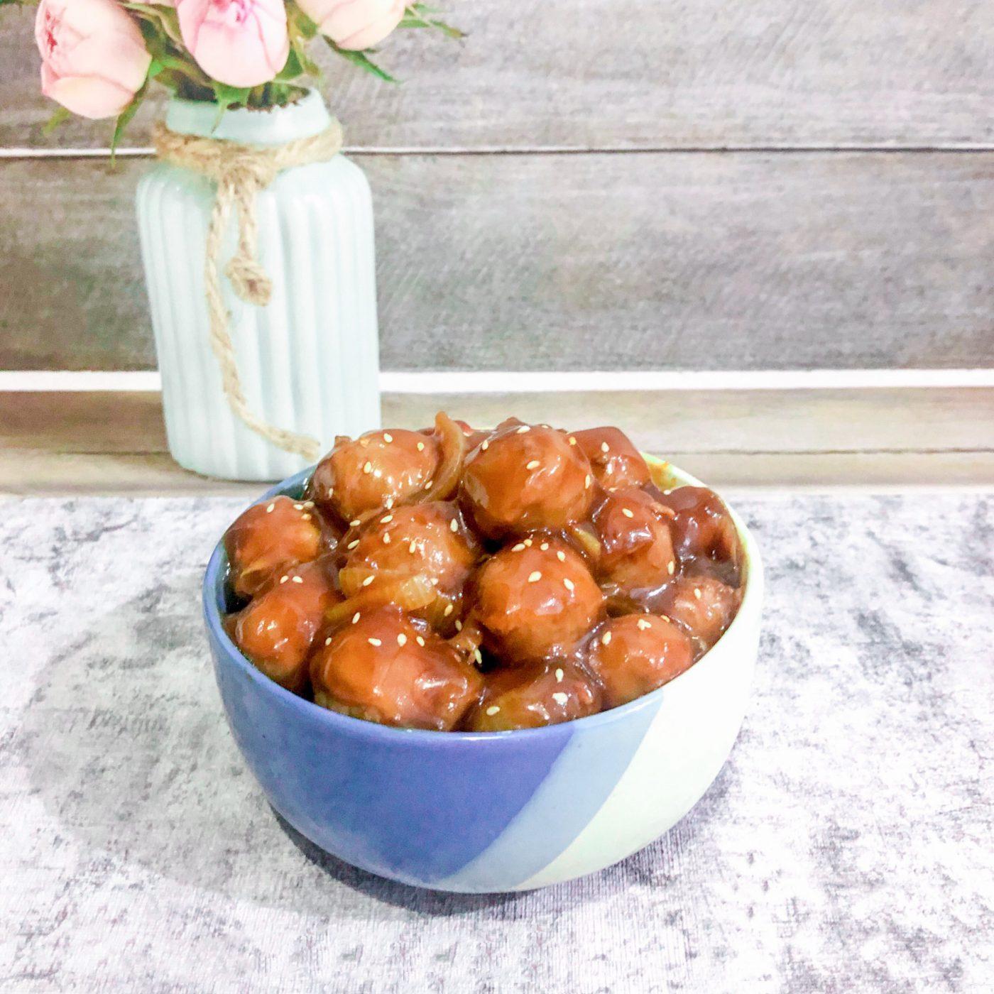 Image Teriyaki Meatball