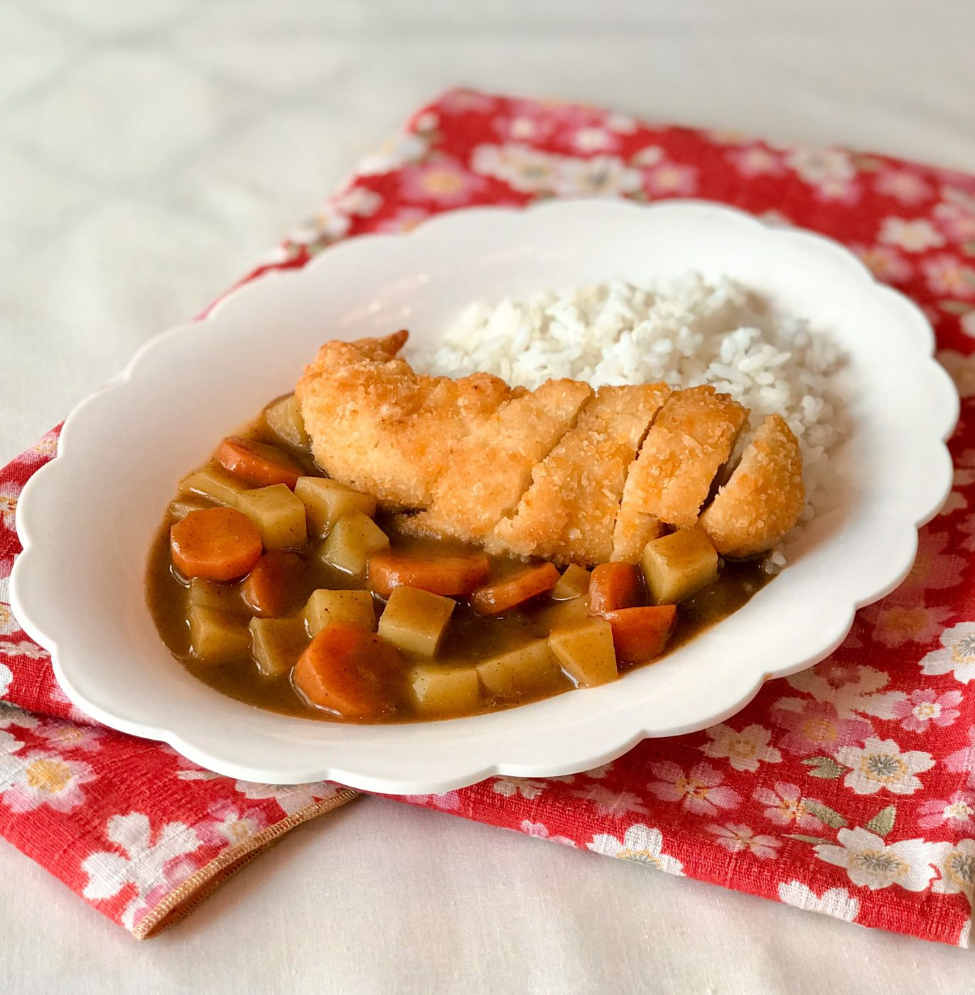 Image Chicken Katsu Curry